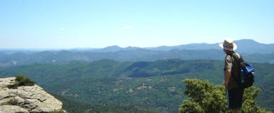 View at the Cevennes valleys, photo Agnes Dubois